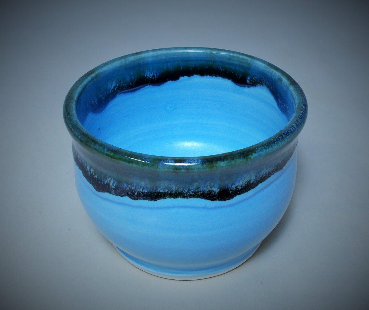 Bill & Claire Delffs - Light Blue Frost Tea Cup